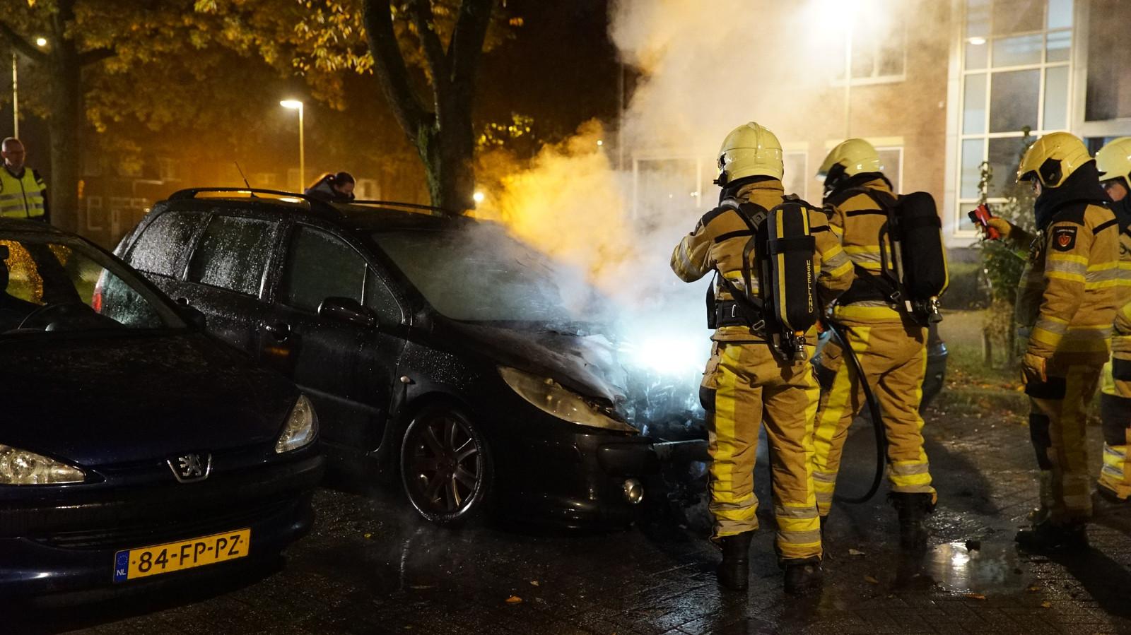 Brand aan de Havezatelaan in Deventer. De brandweer was er snel bij.