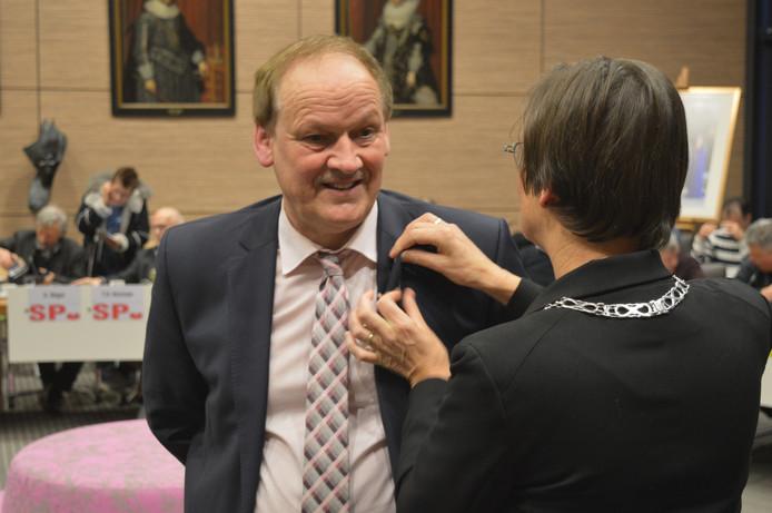 Chris Koopman nam dit jaar afscheid van de gemeenteraad van Tholen.