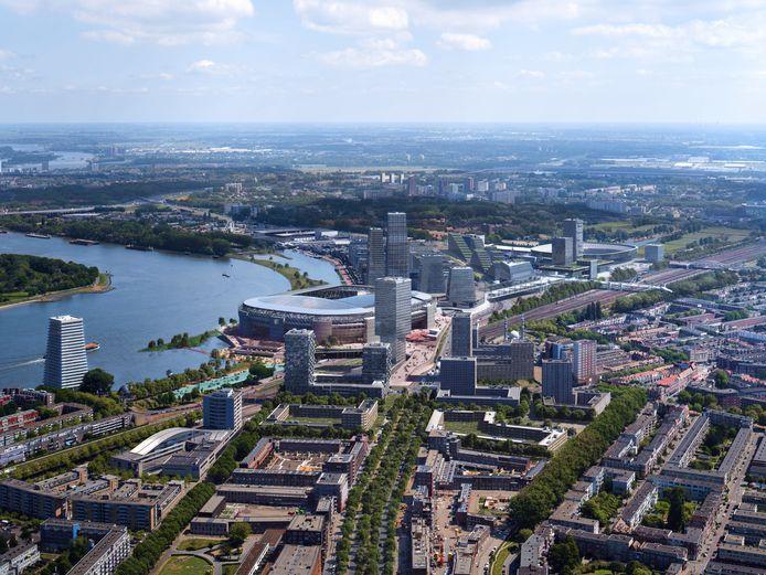 Blik op Feyenoord City.