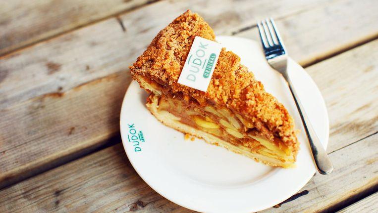 Het recept van de appeltaart van Dudok werd bedacht in Rotterdam en is natuurlijk geheim. Beeld Dudok
