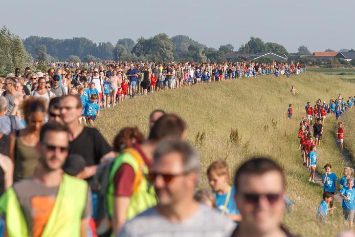 De avondvierdaagse in Zwolle wordt dit jaar niet gelopen vanwege het coronavirus.