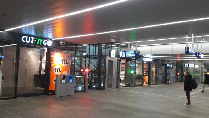 De CUT 'N GO ging mei 2018 open, nu is het filiaal dicht. Op andere locaties gaat de kapperszaak wel door.