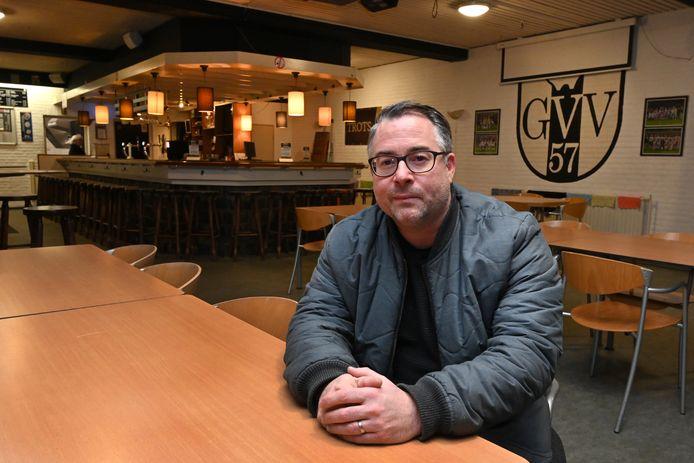 Martijn Tap: Initiatiefnemer van een handtekeningenactie om van kantine GVV'57 een wijkcentrum te maken.