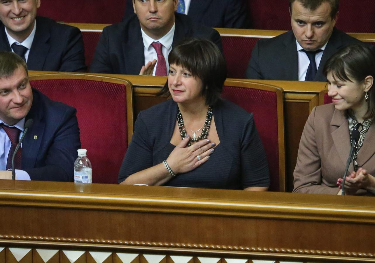 Natalia Jaresko, une Américaine d'origine ukrainienne, a été nommée ministre des Finances de son pays d'origine.