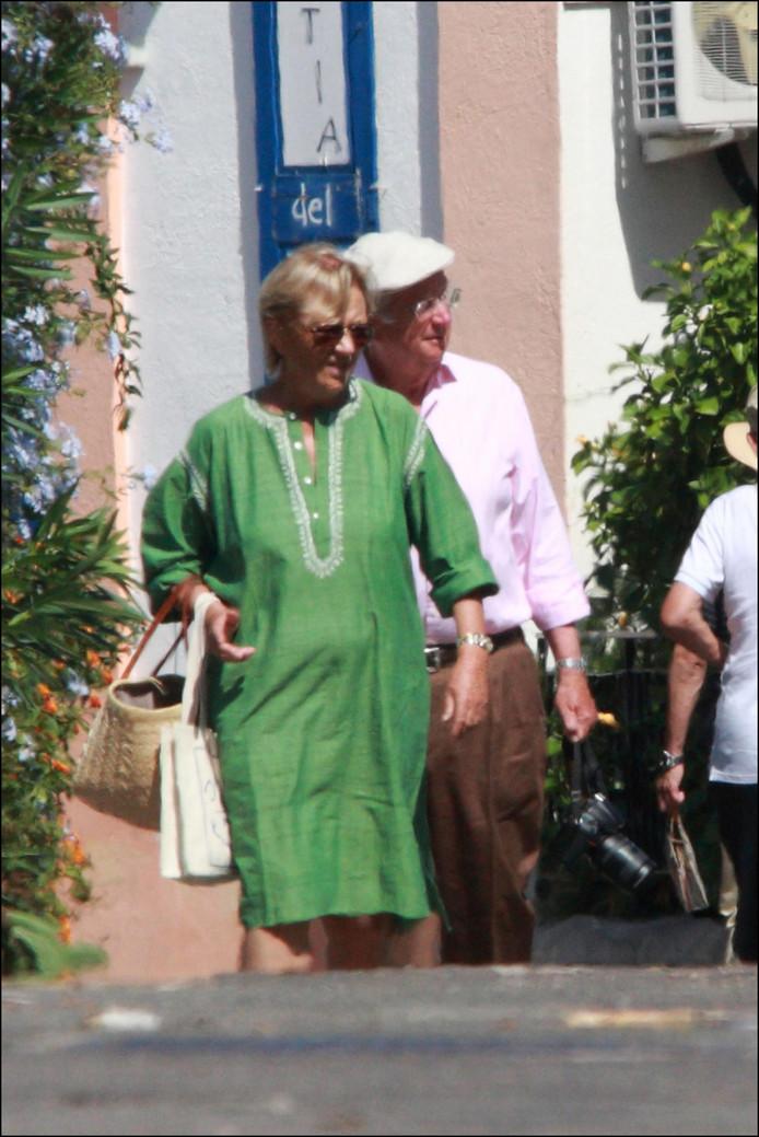 Albert et Paola, en vacances en Sicile