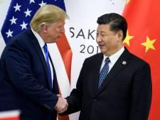 'Trump sluit handelsdeal met China'