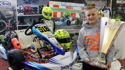 Is de nieuwe Lewis Hamilton een Vlaming? 11-jarige Ean wordt tweede op World Series Karting