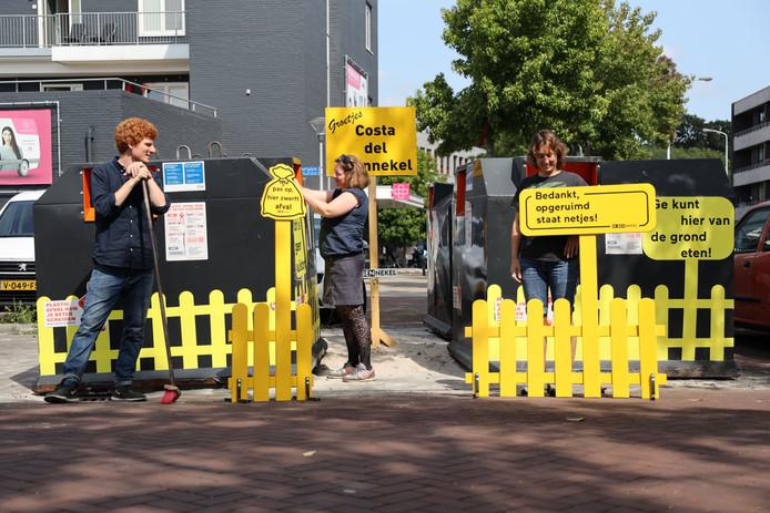 10 jaar kunstige projecten tegen rotzooi Eindhoven