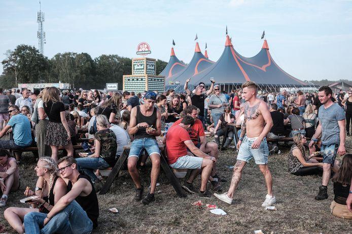 """,,Als iedereen op de Zwarte Cross anderhalve meter afstand moet houden, kom ik 100 hectare tekort op het festivalterrein"""", zegt festivaldirecteur Ronnie Degen."""