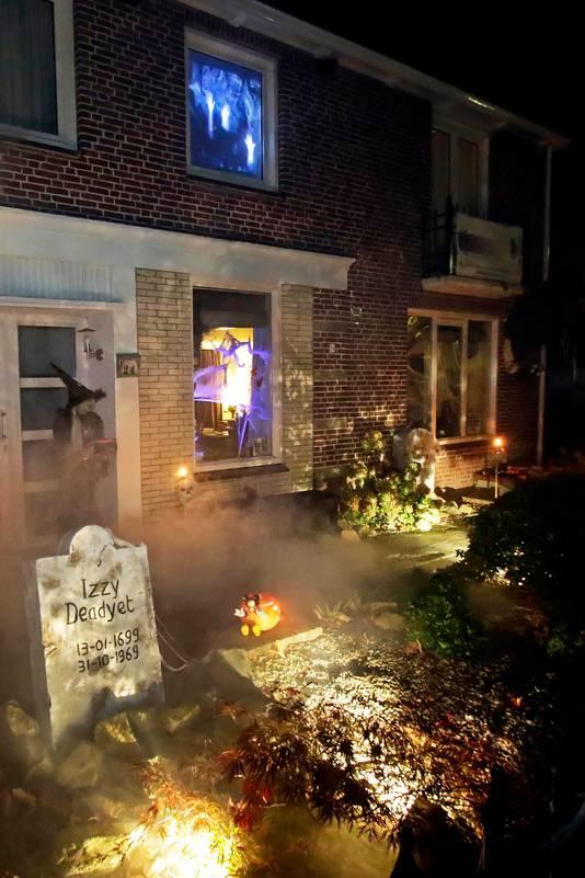 Etten-Leur : HalloweenHouse aan de Oranjelaan       foto: Pix4Profs/Gerard van Offeren