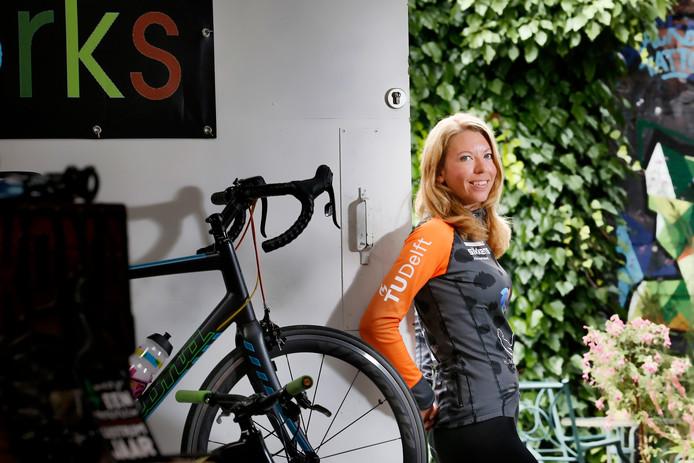 Aniek Rooderkerken hoopt in september de snelste vrouw ter wereld te worden.