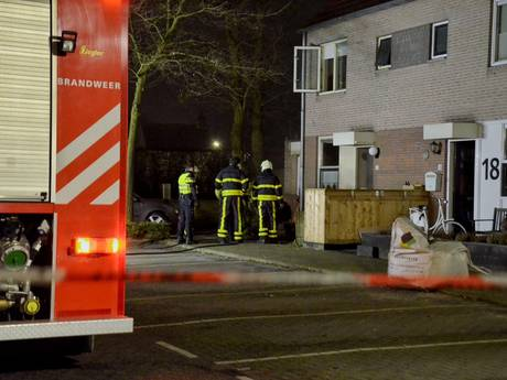 Huizenblok ontruimd na brand in hennepkwekerij in Bergen op Zoom