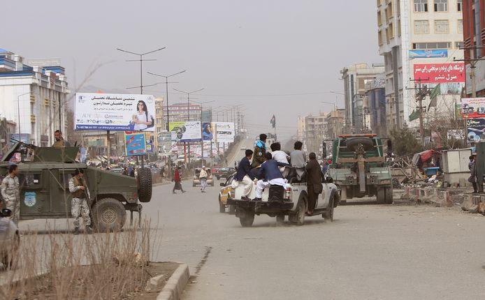 Aanslag in Kabul