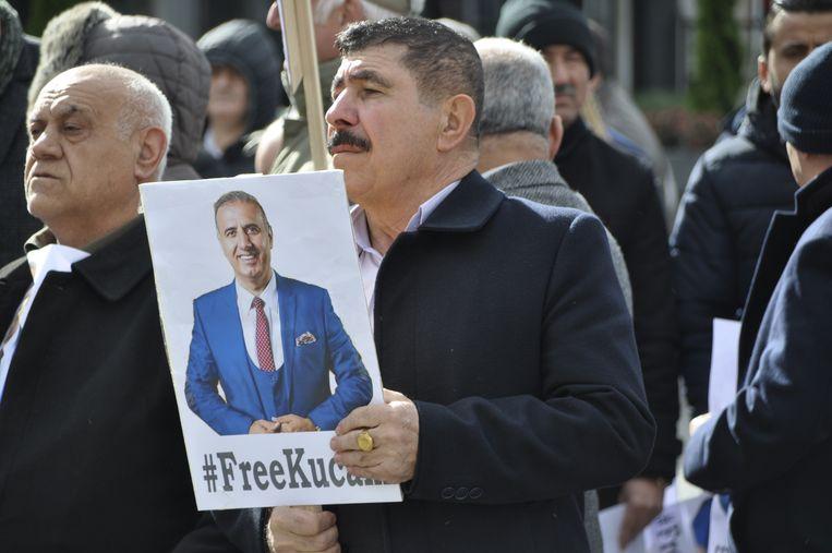 Twee weken geleden kwamen in Mechelen nog honderden sympathisanten betogen voor de vrijlating van Melikan Kucam.