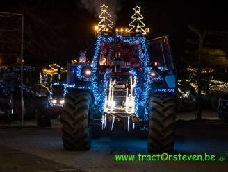 """Ruim 50 versierde tractoren trekken langs Limburgse zorginstellingen: """"Licht brengen na deze donkere feestdagen"""""""