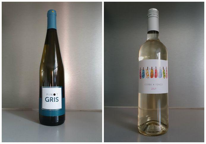 Pinot gris et Corde à Tongs