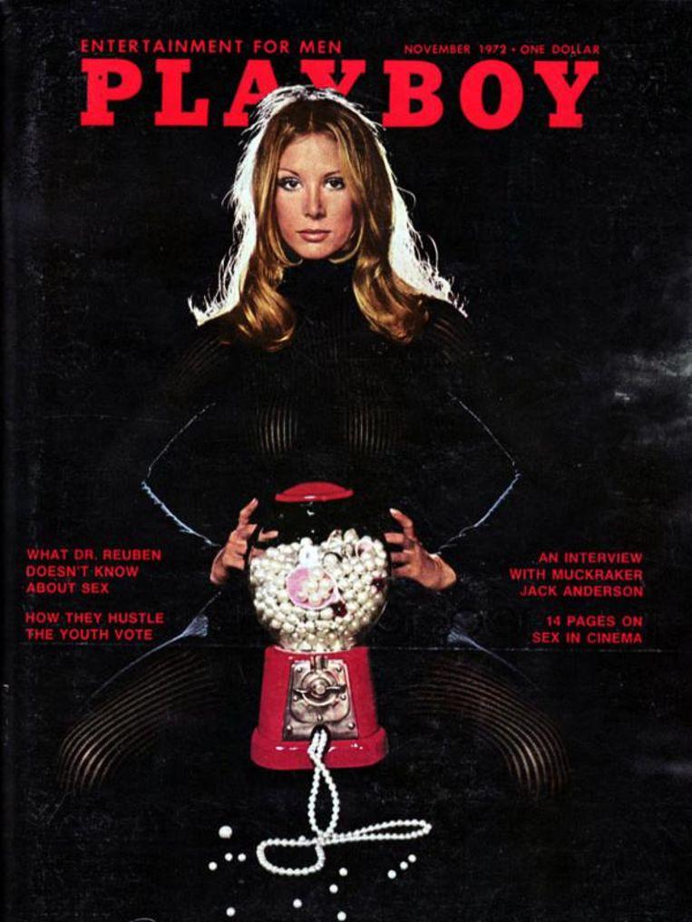 De bestverkochte Playboy, november 1972, met Lena Soderberg. Beeld