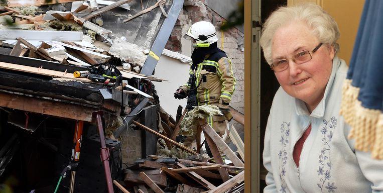 De brandweer bracht ver na middernacht het nieuws waar Vera zoveel uren voor had gevreesd: moeder Louisa was dood aangetroffen. Zij lag in de keuken onder het puin.