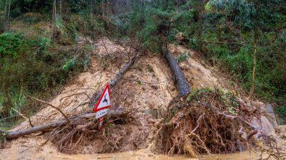 Vier doden in Spanje door zwaar regenweer in Asturië