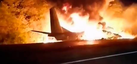 22 morts dans le crash d'un avion militaire en Ukraine