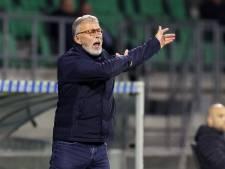 FC Dordrecht en trainer Harry van den Ham per direct uit elkaar