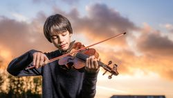 """13-jarig toptalent op viool: """"Dat applaus na een concerto no.3 van Mozart... Zalig!"""""""