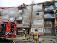 Geen gewonden bij brand in woning aan de Stuwstraat