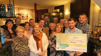 Benefiet levert 5.500 euro op ten voordele van KOMOK