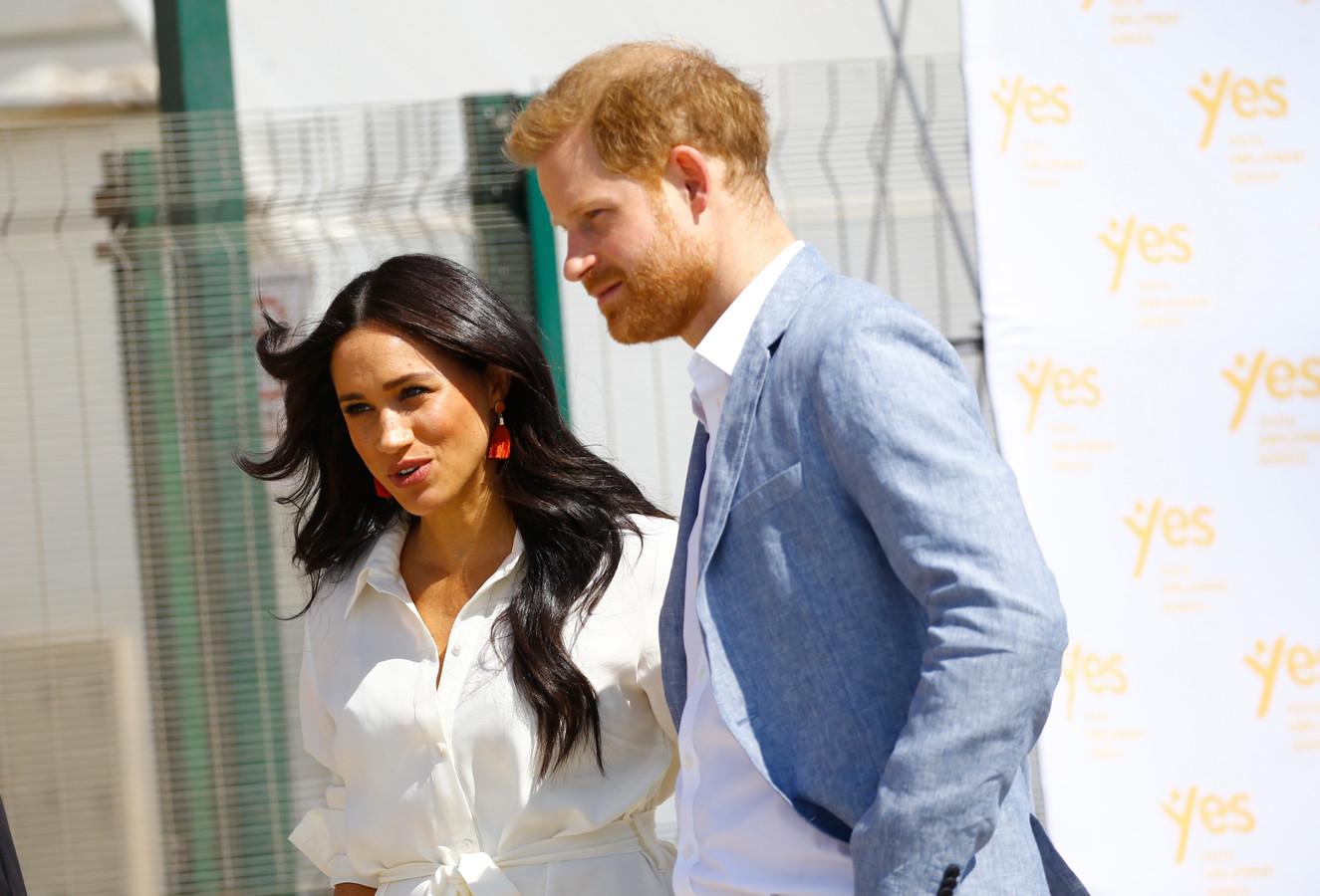 Prins Harry en Meghan maken hun vertrek nog definitiever