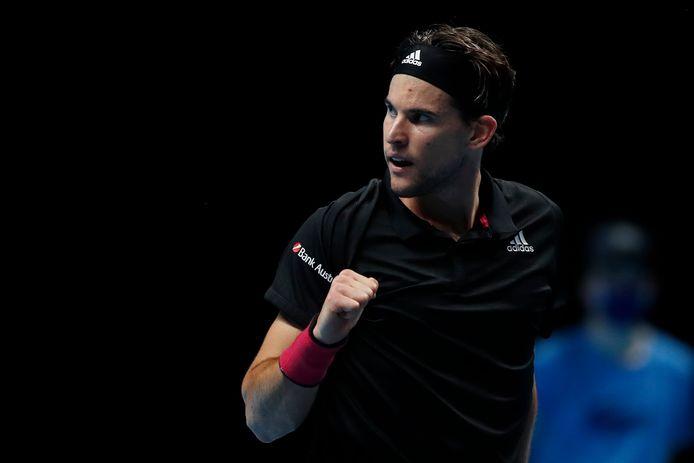 Deuxième finale à Londres pour Dominic Thiem qui, après Nadal en phase de poules, a dompté le numéro 1 mondial Novak Djokovic en demi-finale.