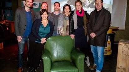 Groen trekt met stoel door Edegem