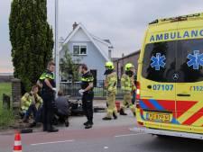 Brommerrijder gewond in Lunteren