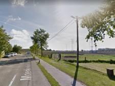 Breder fietspad in dubbele richting langs Moerkerkse Steenweg