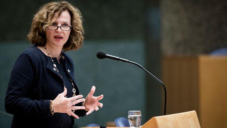 In april riep minister Schippers mensen op om geheimhoudingsovereenkomsten over medische missers te melden bij de Inspectie voor de Gezondheidszorg. Beeld anp
