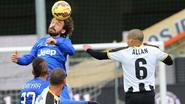 Juventus profiteert niet van gelijkspel AS Roma