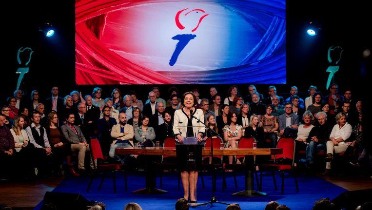 Gerdi Verbeet, voorzitter Nationaal Comite 4 en 5 mei. Beeld anp