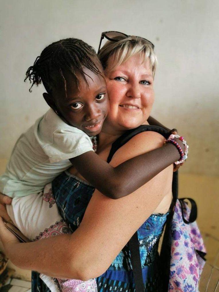 Lieve adopteerde drie kindjes in Senegal