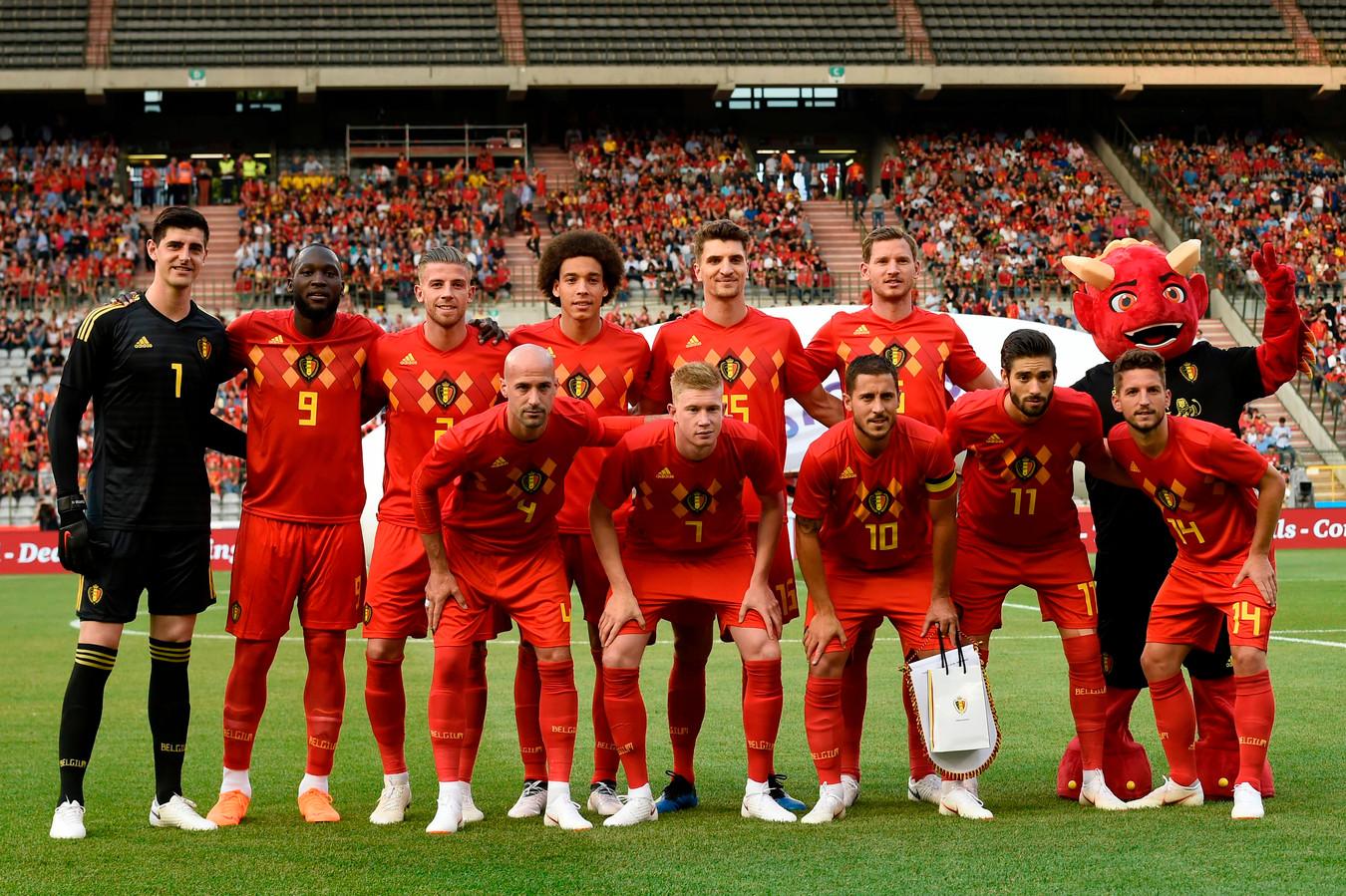 Het Belgisch team.
