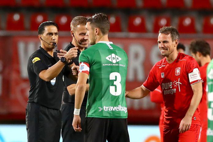 Thomas Lam voor de wedstrijd FC Twente - PEC Zwolle.