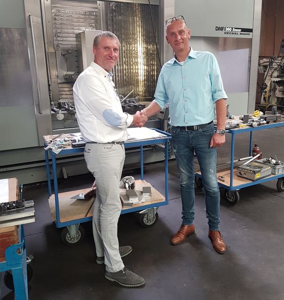 Dirk De Meyer en Tom Stevelinck.