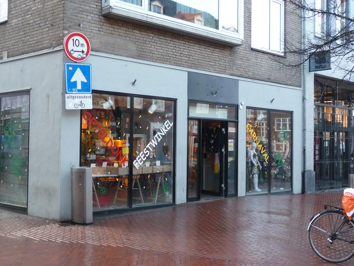 Oeteldonkwinkel in de Visstraat.