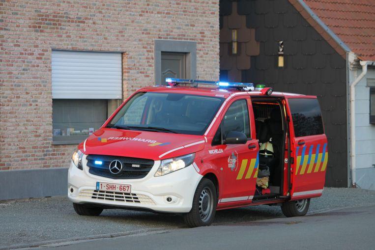 Illustratiebeeld : De brandweer van Wichelen kwam ter plaatse