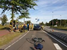 Fietser gewond na aanrijding met auto in Drunen