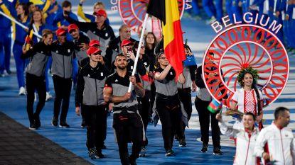 Geen donder en bliksem, wél licht- en dansshow met mini-Team Belgium in openingsparade Europese Spelen
