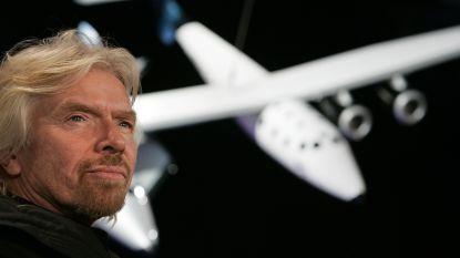 """Richard Branson: """"Virgin Galactic binnen enkele weken de ruimte in, een paar maanden later volg ik"""""""