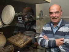 André van Ingen geniet van de lokale geschiedenis