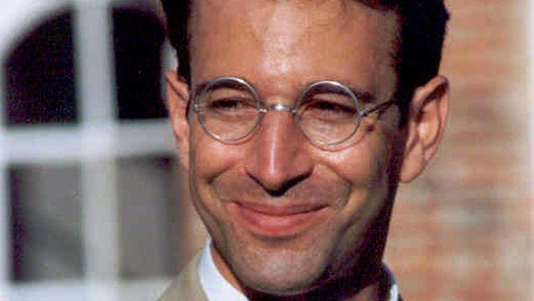 Archieffoto van de vermoorde journalist Daniel Pearl Beeld afp