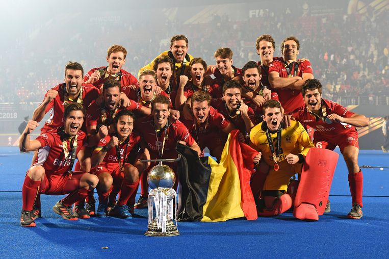 De Red Lions, de beste hockeyploeg ter wereld!