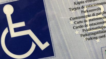 Vijf bestuurders maken misbruik gehandicaptenkaart