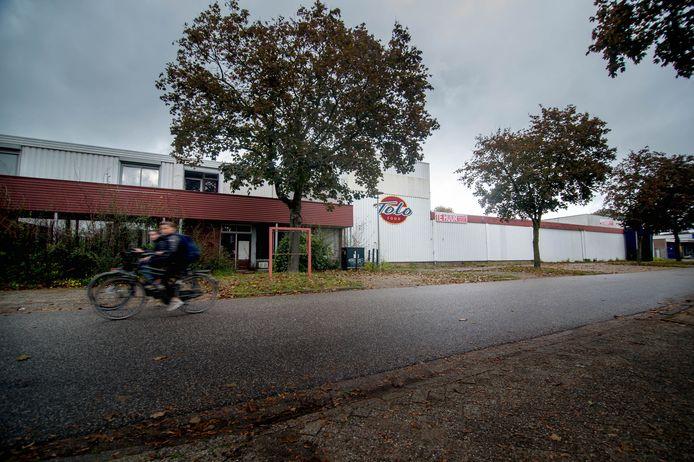Het pand aan de Kraanvogelstraat waarin op 25 april een hennepkwekerij werd aangetroffen.